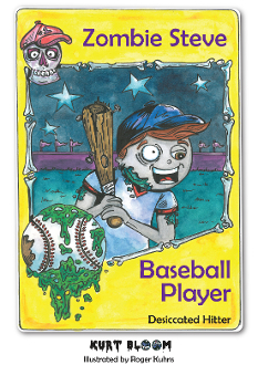 Zombie Steve, Baseball Player