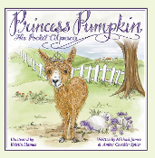 Princess Pumpkin the Pocket Alpaca